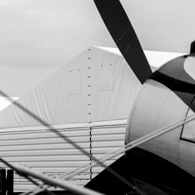 hale namiotowe hangary lotnicze