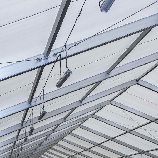 chapiteaux d'équitation toit PVC