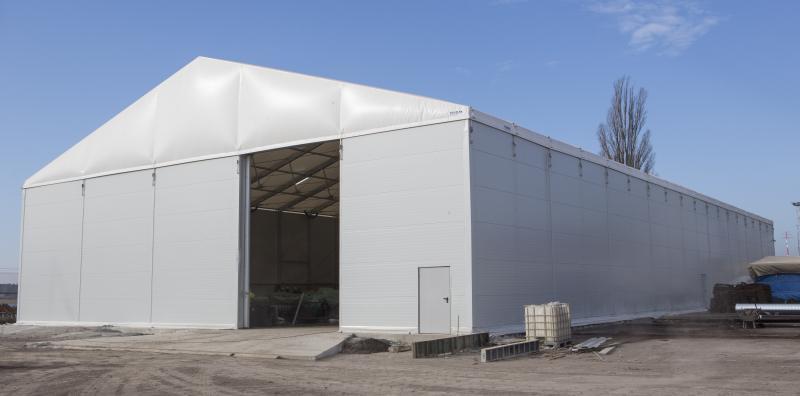 Tente de stockage, Entrepôt de stockage temporaire