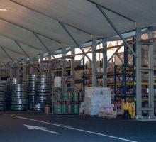 entrepôt de stockage temporaire