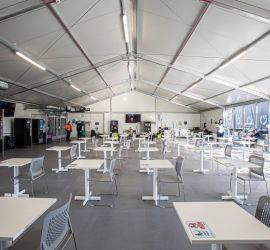 hangar isolé cantine